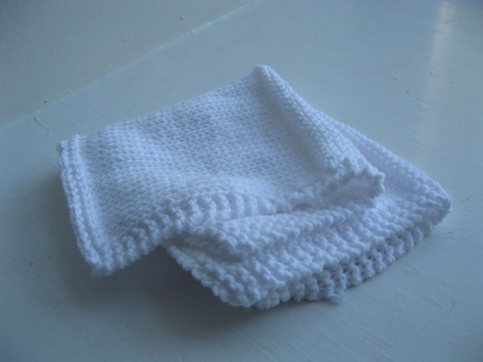 Preemie Knitting Patterns Free : 4 Square Knitted Preemie Blanket Pattern BlueStripedRoom